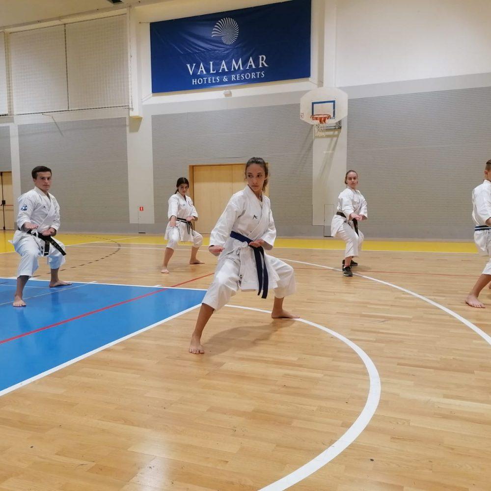 Sportske pripreme hrvatske nanbudo reprezentacije Poreč – 15-20.09.2020