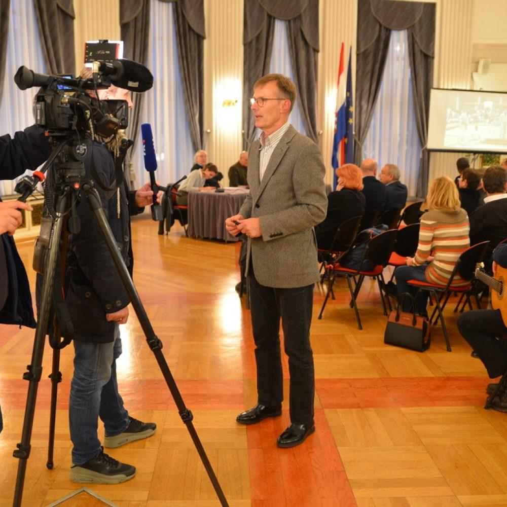Promocija knjige profesora Petra Turkovića: 40 godina nanbudo kluba Gradec i nanbudo sporta u Hrvatskoj