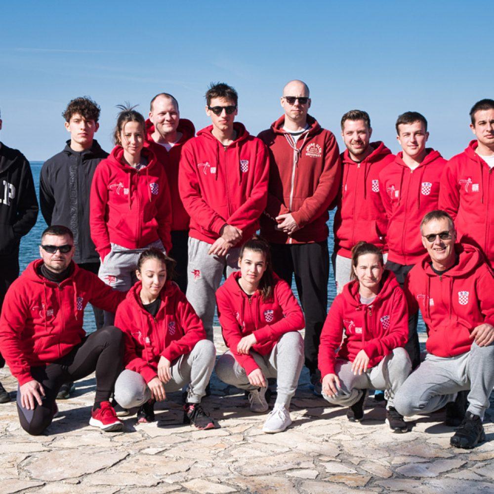 Poreč – 5.-7-3. održane pripreme hrvatske nanbudo reprezentacije